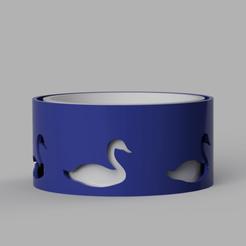 cylindre_cygnes_2020-Jun-19.png Télécharger fichier STL gratuit Boite à bonbons • Design à imprimer en 3D, castor0697