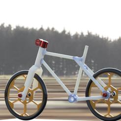 vélo new look 2.2.png Télécharger fichier STL Cadre de vélo perso • Objet imprimable en 3D, castor0697