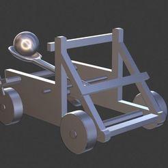 catapulte.JPG Télécharger fichier OBJ Catapulte • Modèle à imprimer en 3D, castor0697