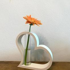 COVER.jpeg Download STL file Tube Vase - The Heart • 3D printer model, Makers_Block