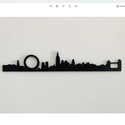 london skyline 2.png Download 3MF file London Skyline • 3D print design, Makers_Block