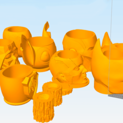 Taytideco-pack-mates.png Download STL file Mates Pack more than 100 stl + stl to hollow out for the polymer adapter • 3D printable object, tayti3dprint