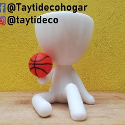 robert-basquet.jpg Download STL file Robert Plant basketball • 3D printing model, tayti3dprint
