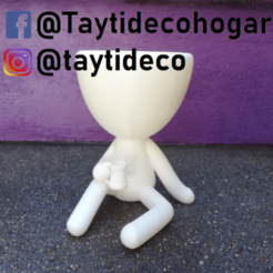 taytideco-robert-chopp.png Download STL file Robert Plant with chopp beer • 3D printing object, tayti3dprint