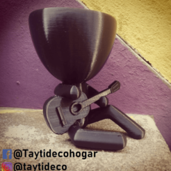 Télécharger STL Robert Plant à la guitare, tayti3dprint