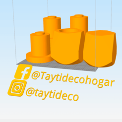 mate-geometrico1.png Download free STL file Geometric and inner cupping matt for polymer adapter • Template to 3D print, tayti3dprint