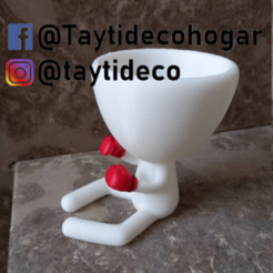 taytideco-robert-boxeador.png Download STL file Robert Plant boxer • 3D printer model, tayti3dprint