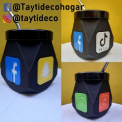 taytideco-mate-geometrico-logos.png Télécharger fichier STL Filets géométriques à logos mats • Plan à imprimer en 3D, tayti3dprint