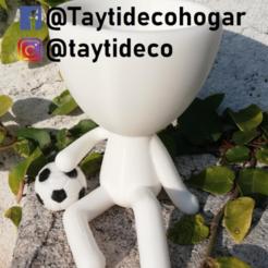 taytideco-robert-futbol.png Download STL file Robert Plant football • 3D printable design, tayti3dprint