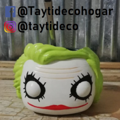 taytideco-mate-jokerFunko.png Download STL file Mate Joker Funko Guazon • 3D printing object, tayti3dprint