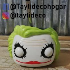 taytideco-mate-jokerFunko.png Télécharger fichier STL Mate Joker Funko Guazon • Plan pour imprimante 3D, tayti3dprint