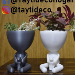 taytideco-robert-conGato.png Download STL file Robert Plant with Cat • 3D printable template, tayti3dprint