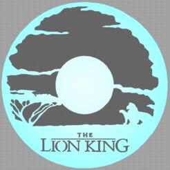 Télécharger objet 3D disney - roi lion - lion king , Juliedml