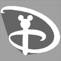 Capturemickey.PNG Télécharger fichier STL mickey - disney - décoration enfant - child decoration - 2D • Objet à imprimer en 3D, Juliedml