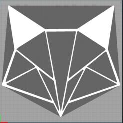 Capture renard 1.PNG Télécharger fichier STL renard - fox - 2D • Plan pour imprimante 3D, Juliedml