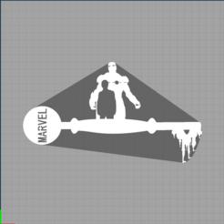Capture marvel.PNG Télécharger fichier STL key iron man - clé disney - marvel - iron man  • Design imprimable en 3D, Juliedml