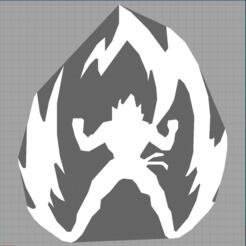 Capture dragon ball.PNG Download STL file son goten - sangoten - son goku - dragon ball - manga • 3D printable design, Juliedml