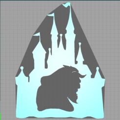 Capturechateau.PNG Télécharger fichier STL chateau - castle - la belle et la bête - beauty and the beast - disney • Modèle à imprimer en 3D, Juliedml