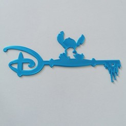 IMG_20200518_090845.jpg Télécharger fichier STL clé stitch et lilo - key stitch et lilo - ohana - Disney • Objet imprimable en 3D, Juliedml