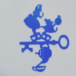 IMG_20200423_090142_950.jpg Download STL file alice in wonderland - alice in wonderland - disney - 2D • 3D print object, Juliedml