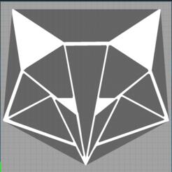 Capture 2.PNG Télécharger fichier STL renard - fox - 2D • Plan pour imprimante 3D, Juliedml