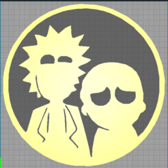 Download 3D printing models rick and morty - rick sanchez - morty smith, Juliedml