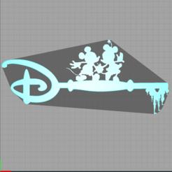 Descargar modelo 3D key mickey and minnie - key mickey and minnie - disney, Juliedml