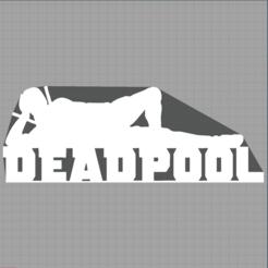 Capture.PNG Download STL file deadpool - heroes - marvel • 3D printer template, Juliedml
