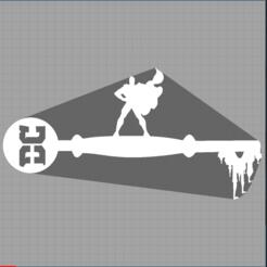 Capture superman.PNG Télécharger fichier STL clé superman - key dc comics  • Modèle pour imprimante 3D, Juliedml