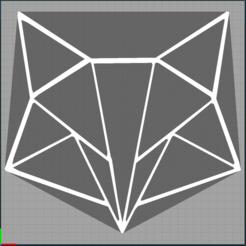 Capture 1.PNG Télécharger fichier STL renard - fox - 2D • Plan pour imprimante 3D, Juliedml