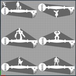Capture marvel.PNG Télécharger fichier STL thor - spiderman - iron man - hulk - captain america - gardiens de la galaxie - marvel - disney - keys - clés • Plan imprimable en 3D, Juliedml