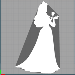 Capture la belle au bois dormant .PNG Download STL file the sleeping beauty - the sleeping beauty - disney • 3D print template, Juliedml