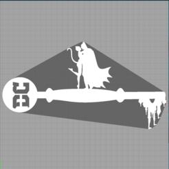 Capture batman et catwoman.PNG Télécharger fichier STL  clé batman et catwoman - key dc comics - gotham  • Plan pour imprimante 3D, Juliedml
