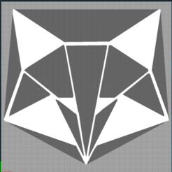 Capture renard 3.PNG Télécharger fichier STL renard - fox - 2D • Plan pour imprimante 3D, Juliedml