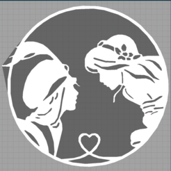 Capture jasmine.PNG Télécharger fichier STL aladdin - jasmine - disney • Plan imprimable en 3D, Juliedml