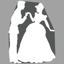 Capture.PNG Télécharger fichier STL cendrillon - prince charmant - cinderella - disney  • Objet à imprimer en 3D, Juliedml