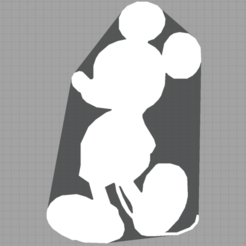 Download free 3D printing designs mickey - disney - kids decoration - child decoration - 2D, Juliedml