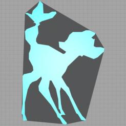 Capture.PNG Télécharger fichier STL bambi - faon - disney - 2D • Plan pour impression 3D, Juliedml