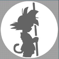 Capture dragon ball.PNG Download STL file son goten - sangoten - dragon ball - manga • 3D printable template, Juliedml