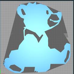koda.PNG Download STL file brother bear - brother bear - koda • 3D printable template, Juliedml