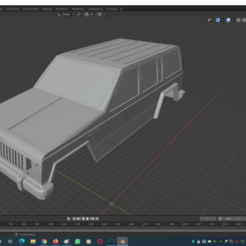1.png Download STL file Jeep Cherokee 1990 RC Shell • 3D printer design, mamatterer2