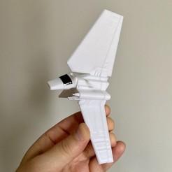 Descargar archivo STL gratis Star wars tydirium lanzadera • Modelo para la impresión en 3D, alphonsojac