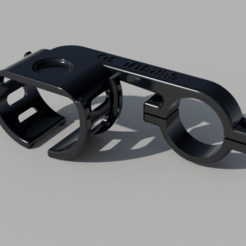 Garmin_fix_full v3.png Download STL file Bicycle Garmin watch mount • Object to 3D print, 3DSerbul