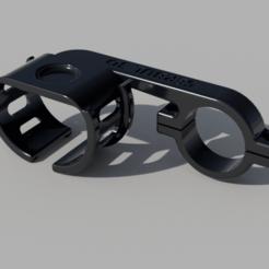 Garmin_fix_full v3.png Télécharger fichier STL Monture de montre Garmin pour bicyclette • Design pour impression 3D, 3DSerbul