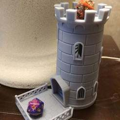20200212_161534.jpg Download free STL file Dice Tower sized for resin printers • Model to 3D print, wylerb05