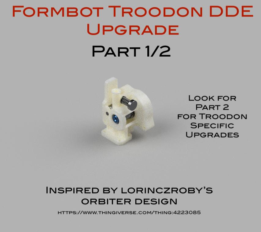 Orbiter Extruder WJP (ISO Rendered Annotated).png Télécharger fichier STL gratuit Formbot Troodon Orbiter Direct Drive Extruder (DDE) Part 1/2 • Design pour impression 3D, ja11en