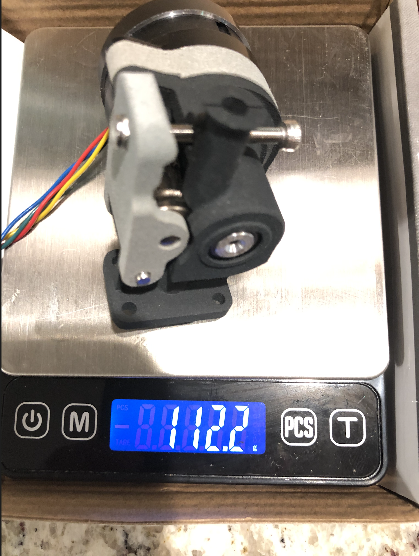 NewExtruderWeight.png Télécharger fichier STL Formbot Troodon Direct Drive Extruder (DDE) Part 2/2 Troodon Accessories Kit • Objet à imprimer en 3D, ja11en