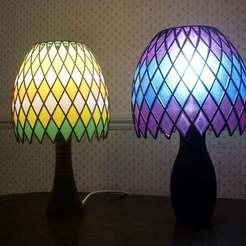 Descargar archivos 3D gratis Lámpara de mosaico, billbo1958