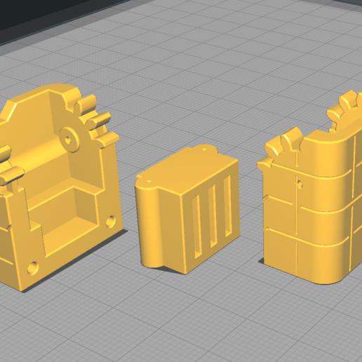 arrangement.png Télécharger fichier STL Etuis à microprocesseur : pour les cartes micro SD et autres petits objets • Design imprimable en 3D, KaziToad