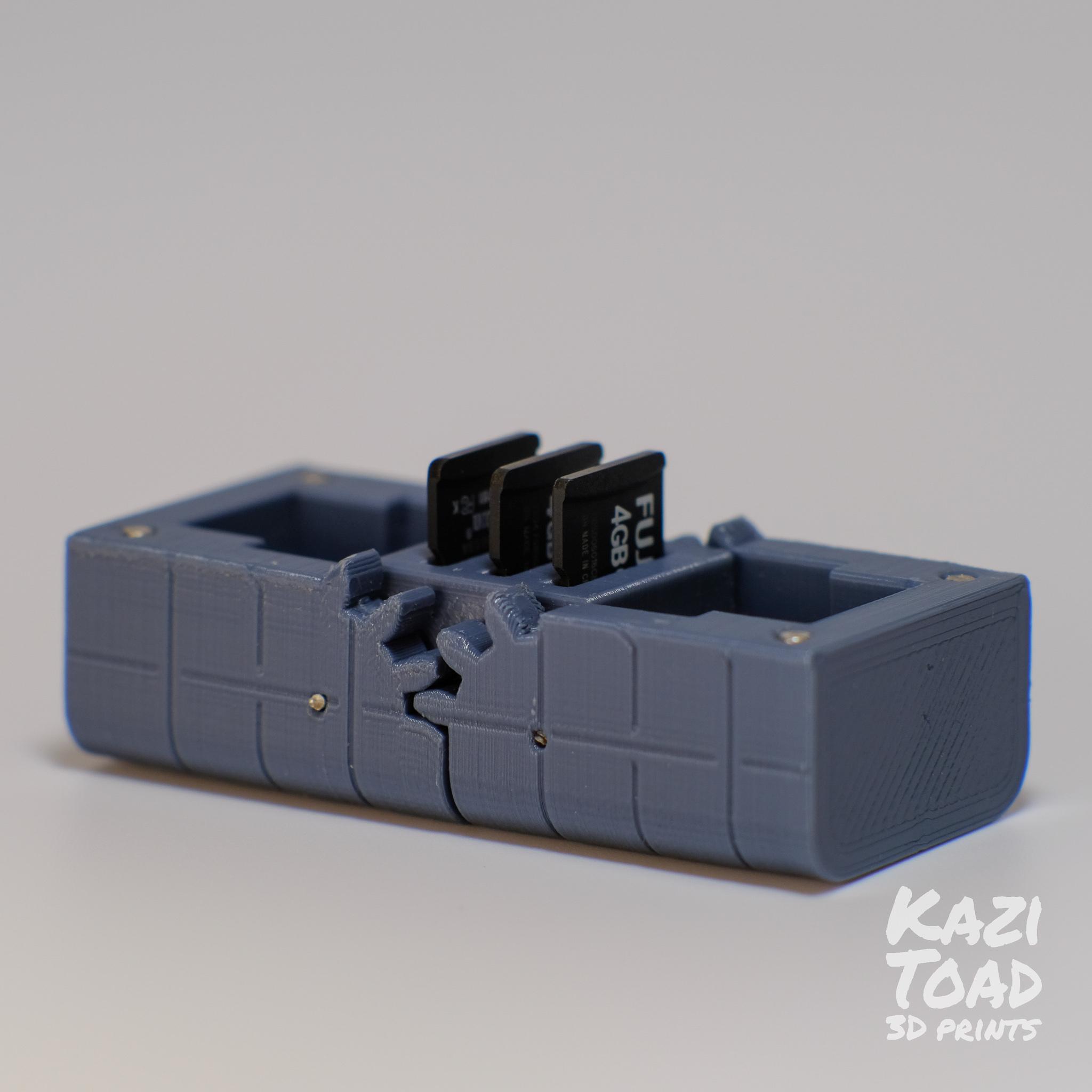 sd1.jpg Télécharger fichier STL Etuis à microprocesseur : pour les cartes micro SD et autres petits objets • Design imprimable en 3D, KaziToad